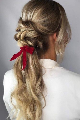Twists Into Ponytail #updo #ponytail #thinhair