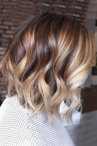 Warm Tones on Dark Brown Hair picture3
