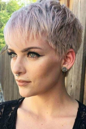 25 Glamorous Pixie Cut 2020 for Astonishing Look ... |Pixie Hair Cuts