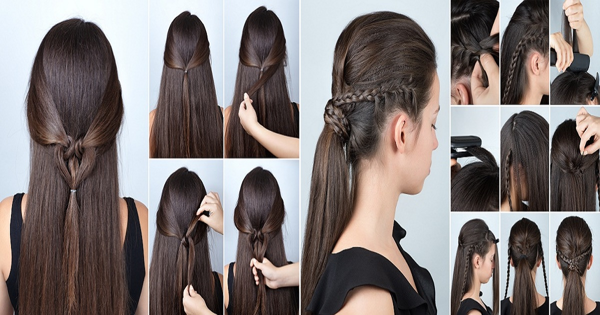 Fine 14 Simple Diy Hairstyles For Gowns Hairs London Natural Hairstyles Runnerswayorg