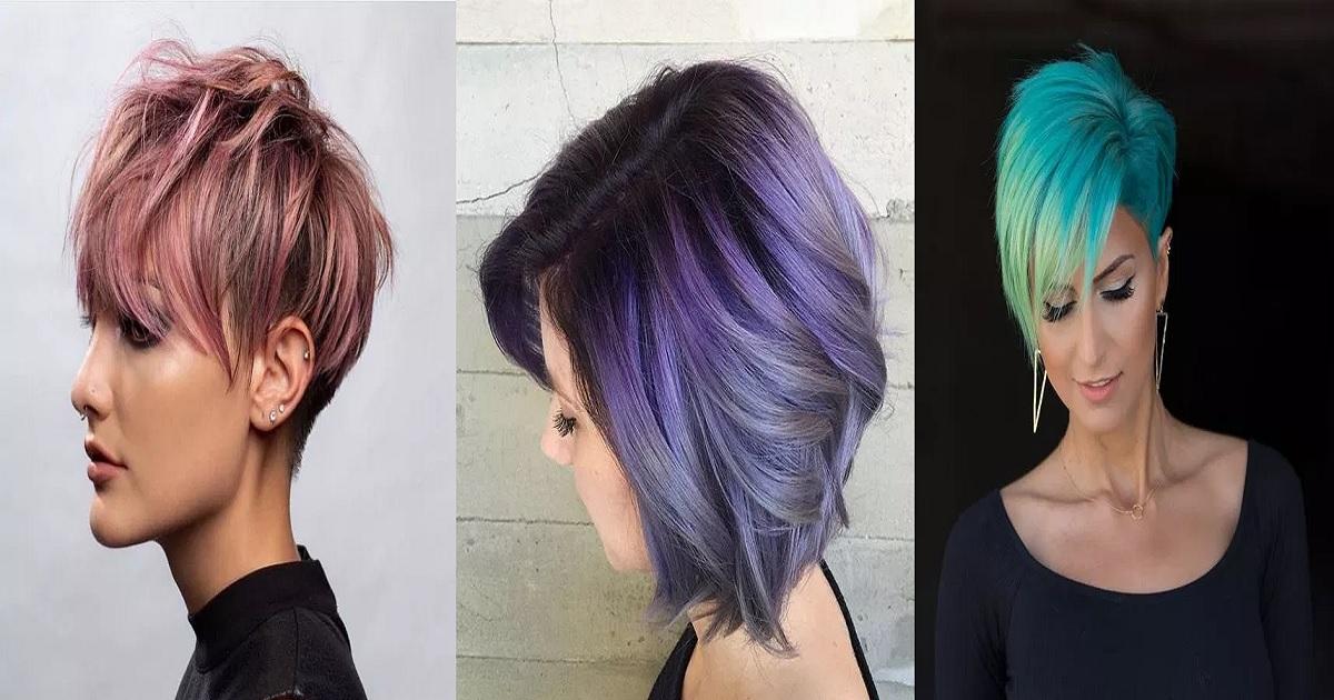Beautiful Hair Dye Styles For Short Hair Hairs London