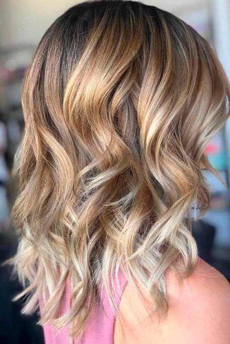 Blonde Balayage Hairstyle #blondehair #balayagehair