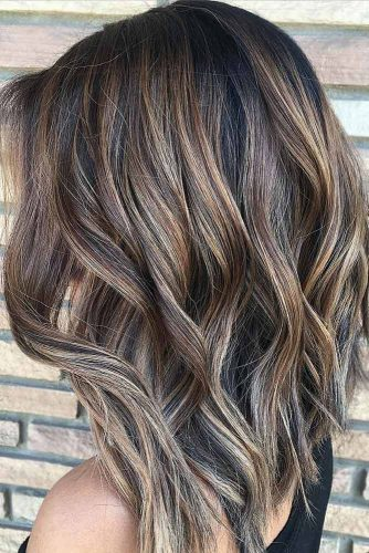 Hairstyle With Edgy Layers #wavyhairstyle