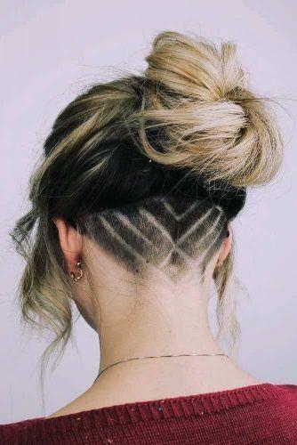 Stylish Undercut Hairstyle #undercut #trendyhairstyles
