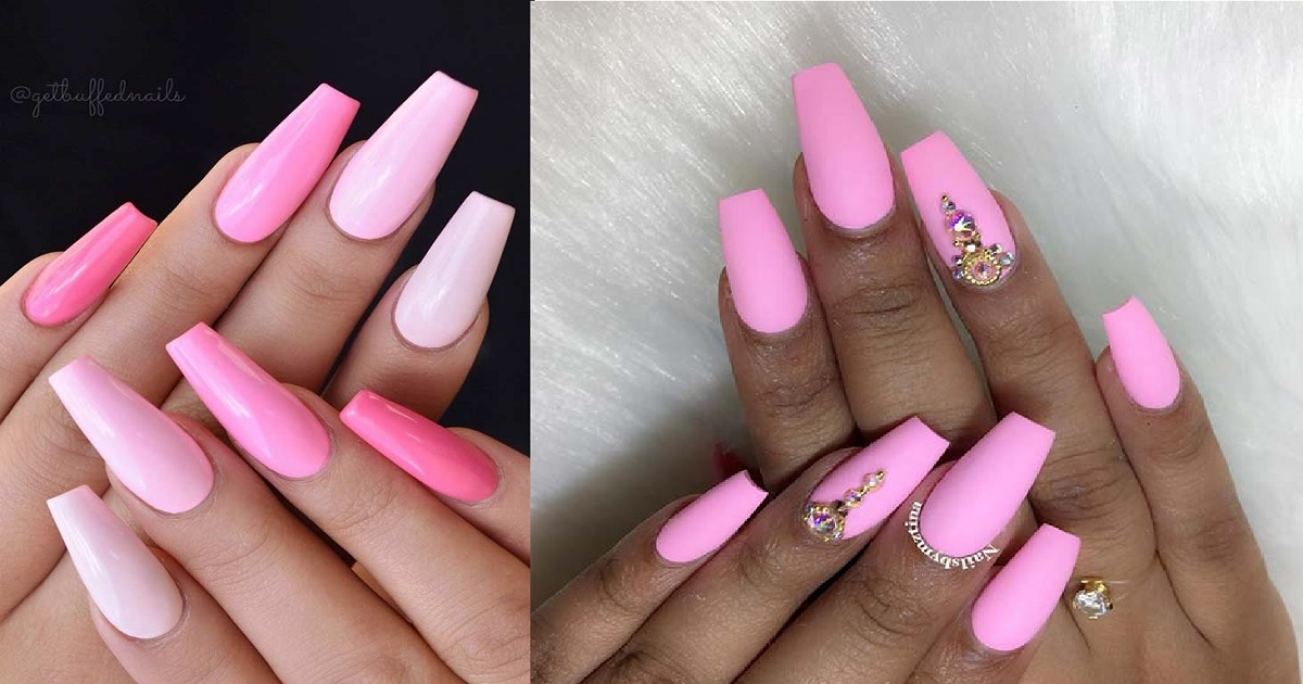 10 Light Pink Nail Designs And Ideas To Try