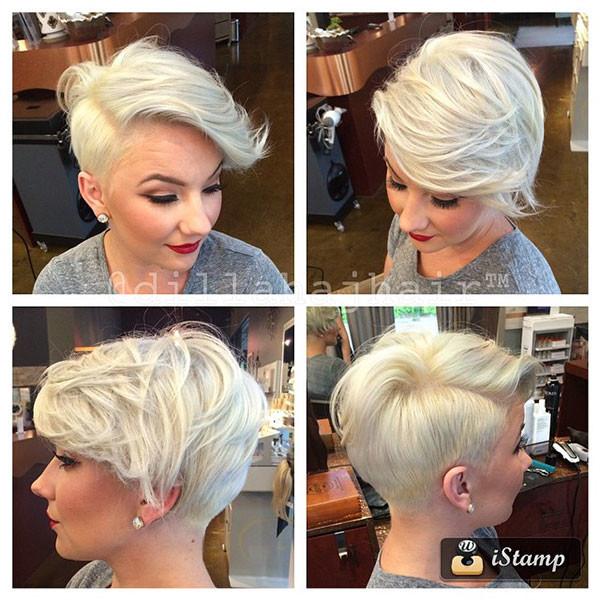 40-blonde-pixie-cut New Pixie Haircut Ideas in 2019