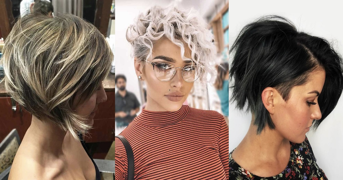 latest modern short shaggy hairstyles and haircuts 2020