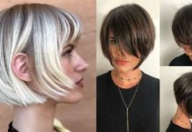 Short-Hairstyles-with-Bangs-2020