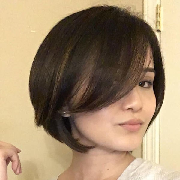 Bob-Hair-Round-Face Best New Bob Hairstyles 2019