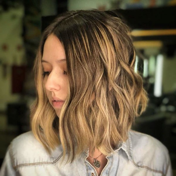 Brown-Balayage-Bob-Hair Best New Bob Hairstyles 2019