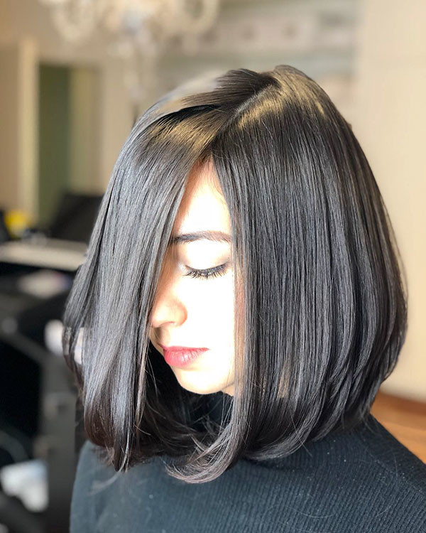 Cute-Layered-Bob-Hairstyle Best New Bob Hairstyles 2019