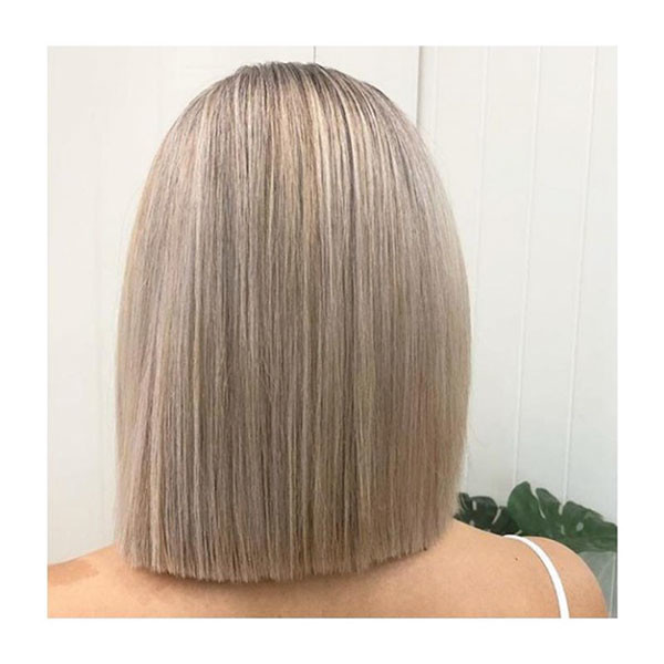 Straight-Bob-Haircut Best New Bob Hairstyles 2019