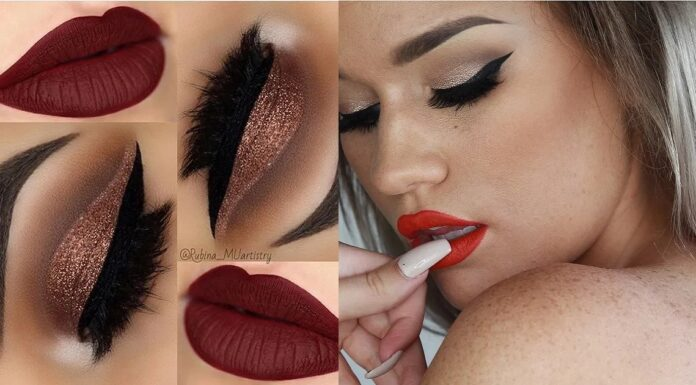 21-Eye-Makeup-Looks-With-Red-Lips