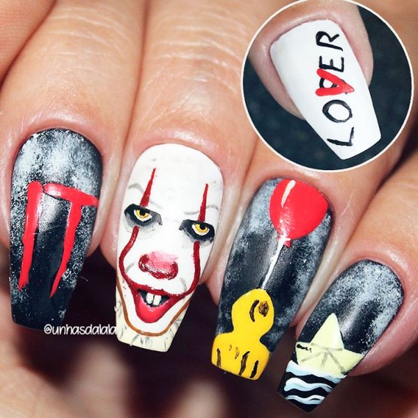 Spooky Halloween Coffin Nails!