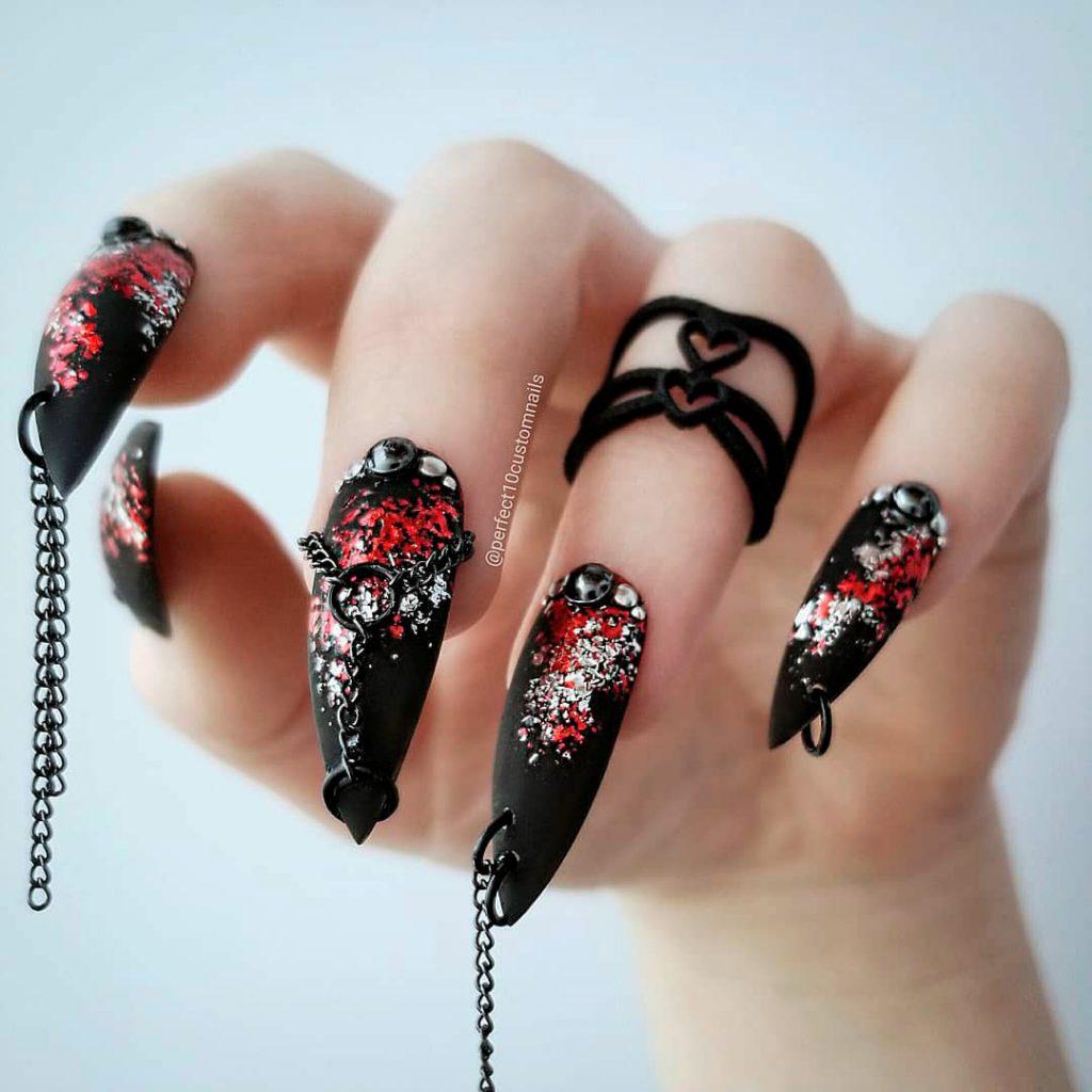 Spooky Halloween Press On Nails!