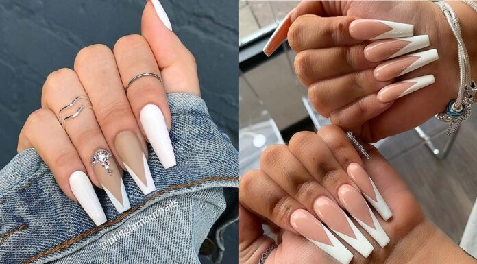 22-Elegant-French-Tip-Coffin-Nails