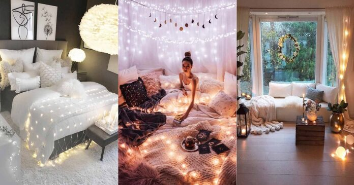 27-Cozy-Decor-Ideas-With-Bedroom-String-Lights