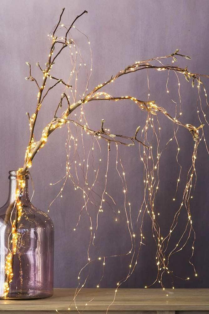 Amazing Light Tree Idea for Your Home #indoordecor