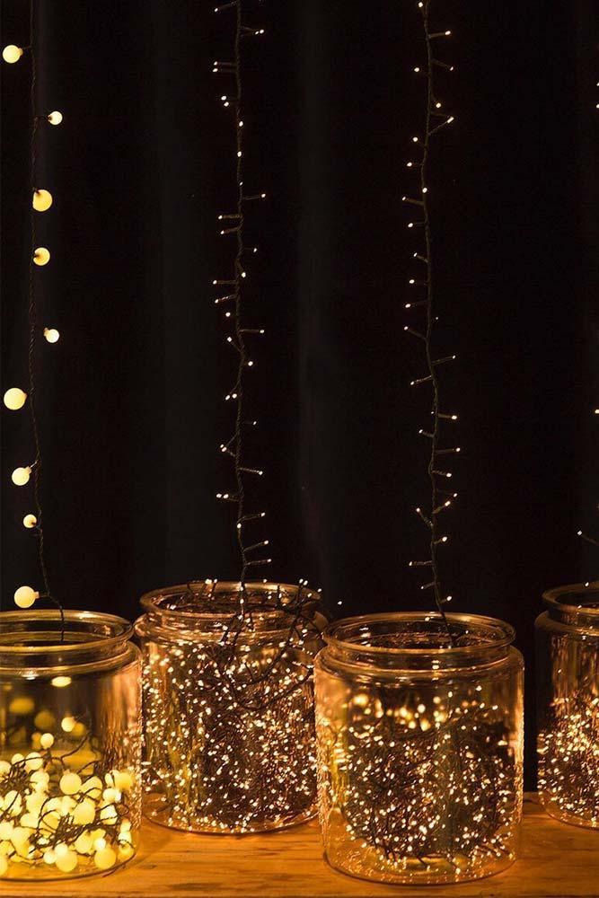 Fairy Lights Ideas For Your Home Décor #fairy