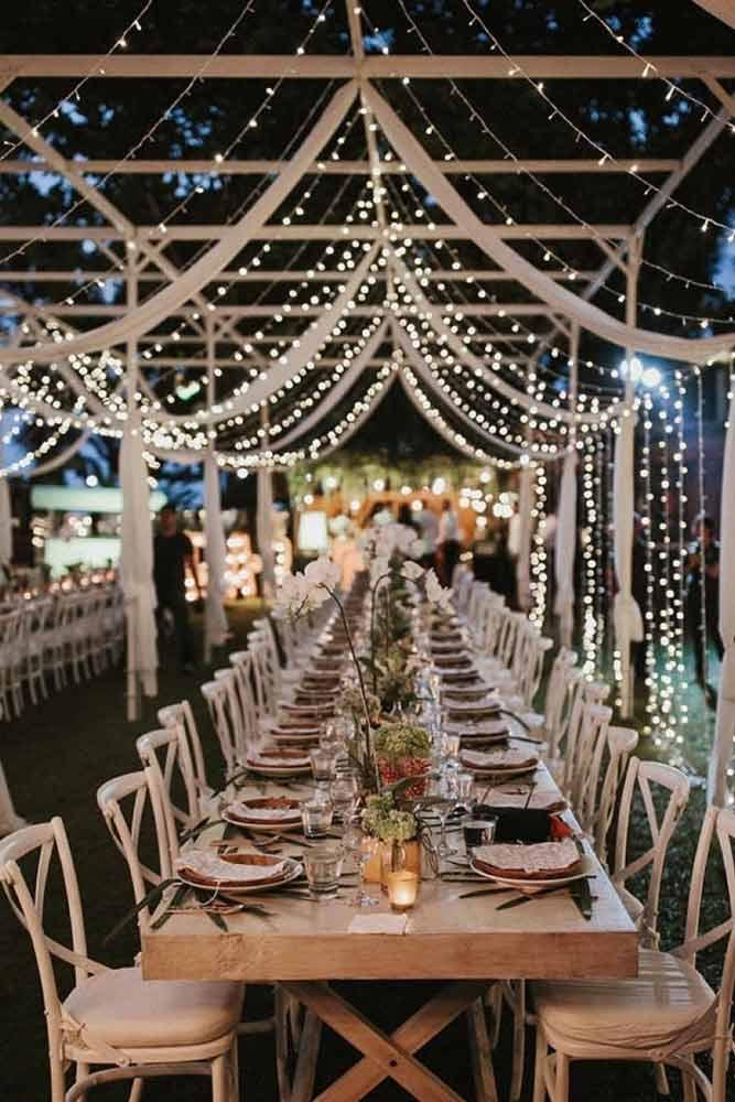 Fantastic String Lights Décor For Special Events #event