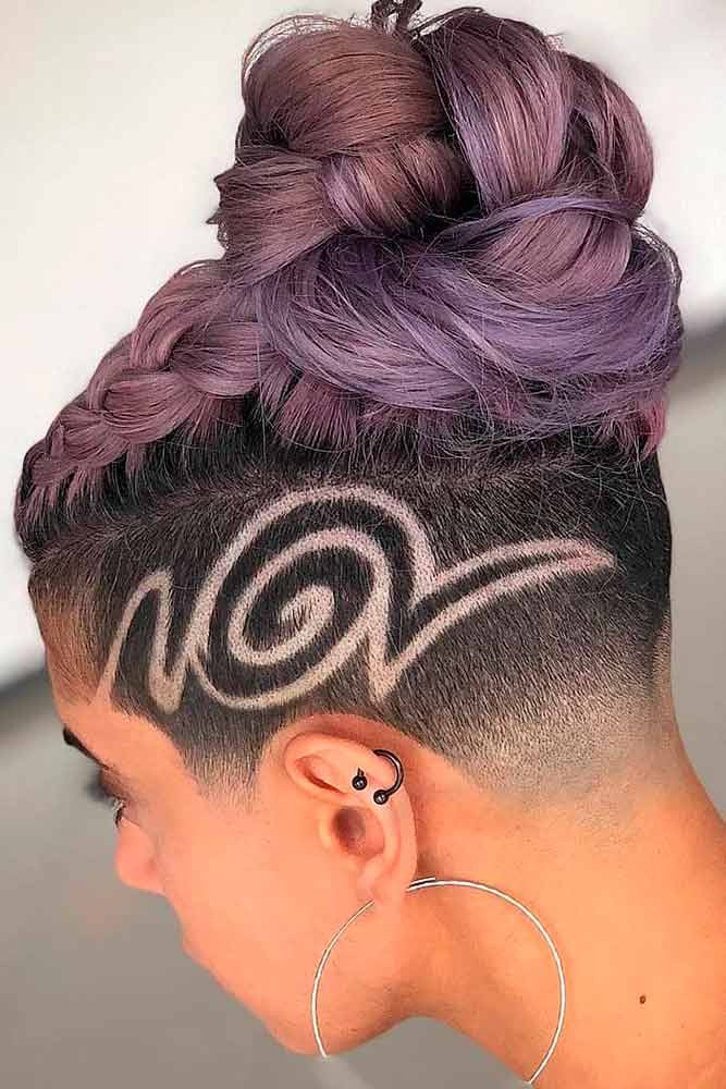 How Often Do You Have To Shave An Undercut? Undercut Upkeep #edgyhaircut #shavedtatto