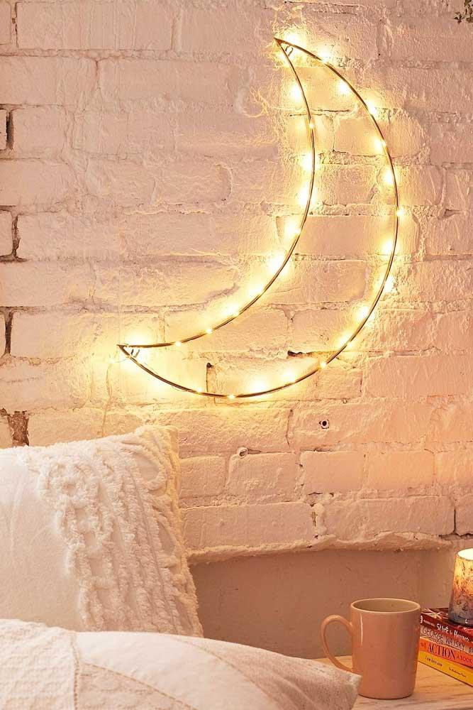 How To Make Your Room Fairy #moondecor