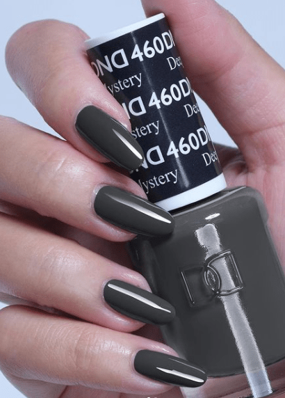 deep gray winter nail color ideas