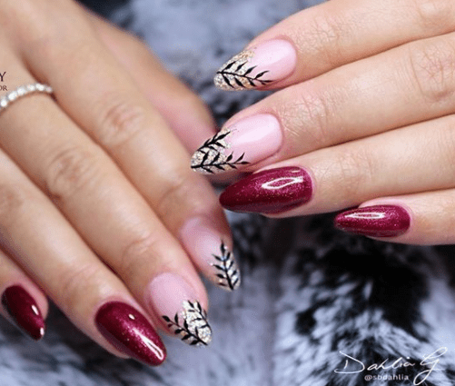 festive holiday nail designs