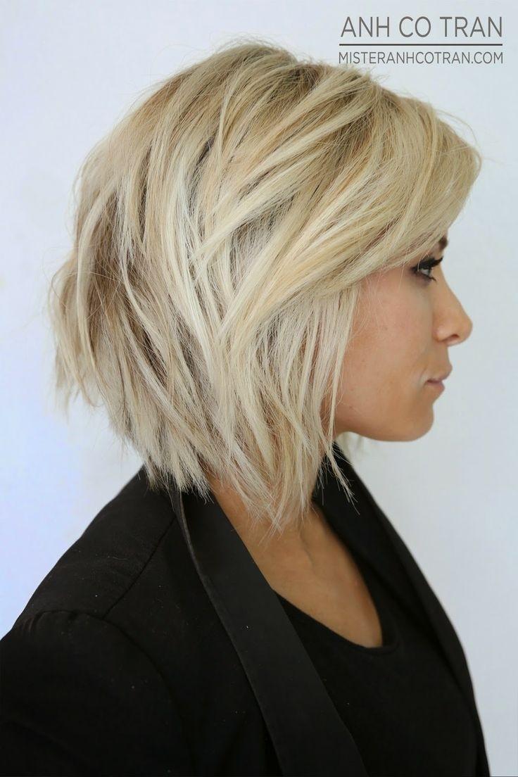 Chic Layered Hairstyles: Bob Haircut