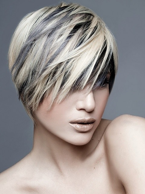 Straight Hairstyle for Short Hair