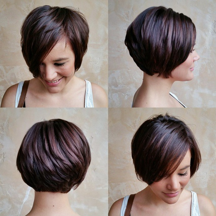 long pixie cut with bangs for medium thick hair