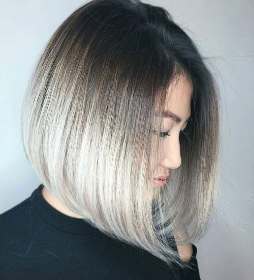 Medium Inverted Bob Haircut