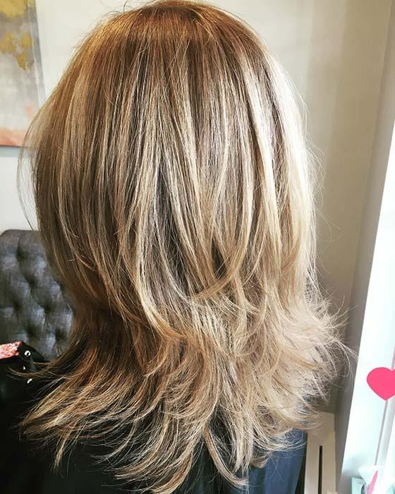 Beautiful Blonde Hair with Layers